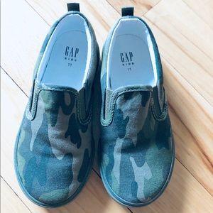Gap Camo Slip On Sneakers
